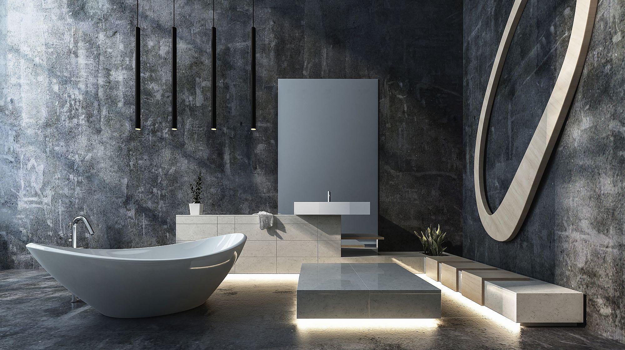 Die fugenlose Lösung im Bad.   Bauen Südtirol